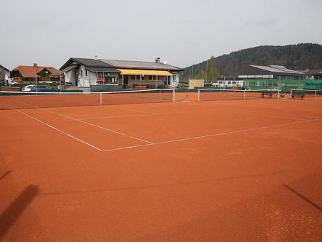 Tennissaison Eröffnung am 1. Mai 2020