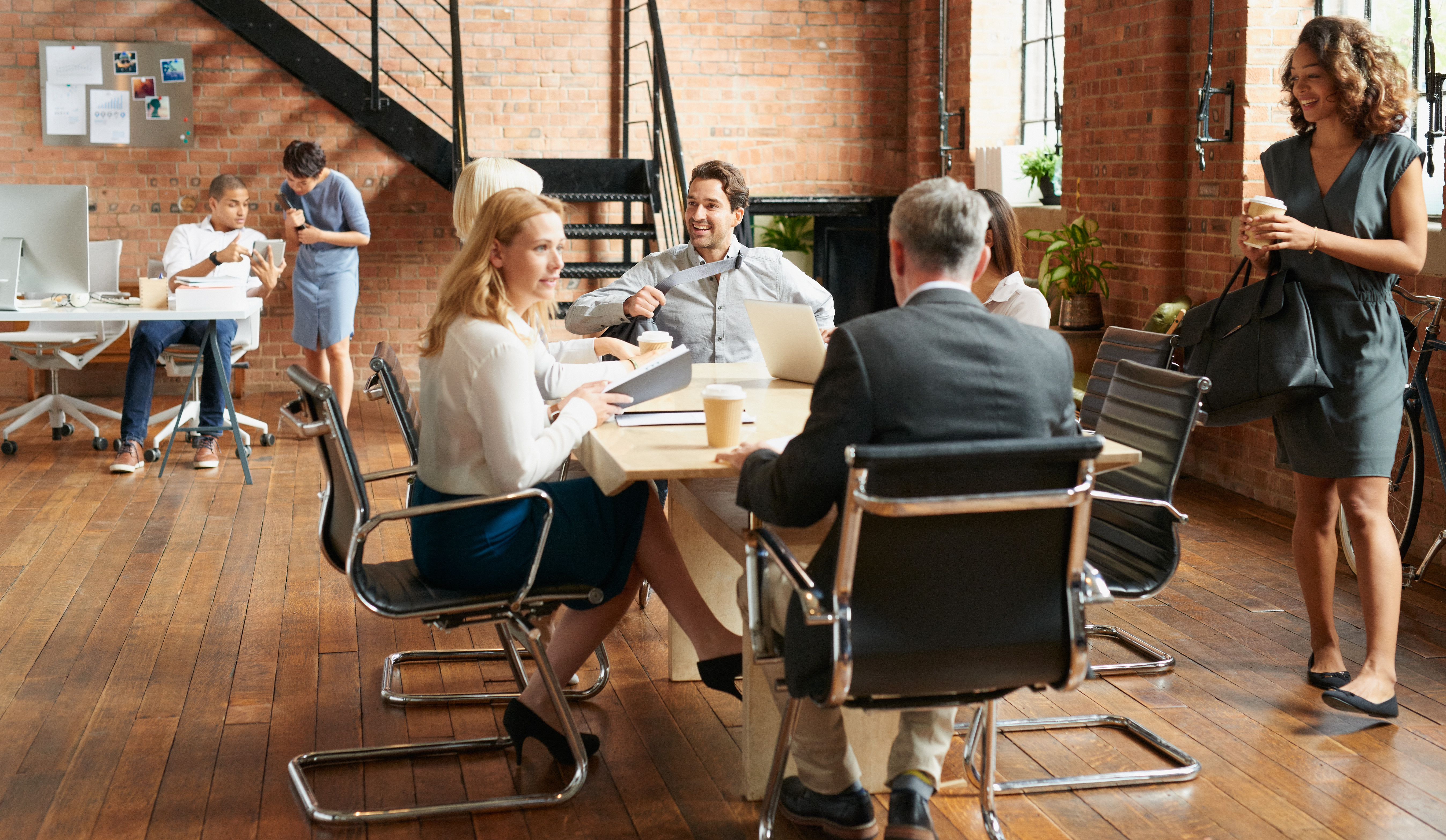 Leadership - Team Meeting