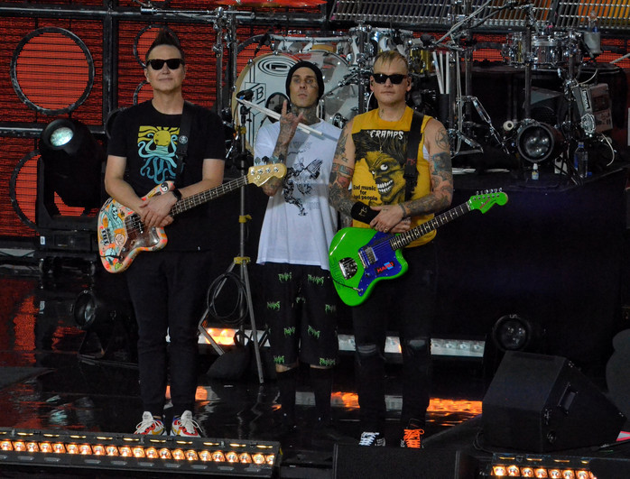 Blink-182 on Good Morning America, Announce New Release to Drop in September