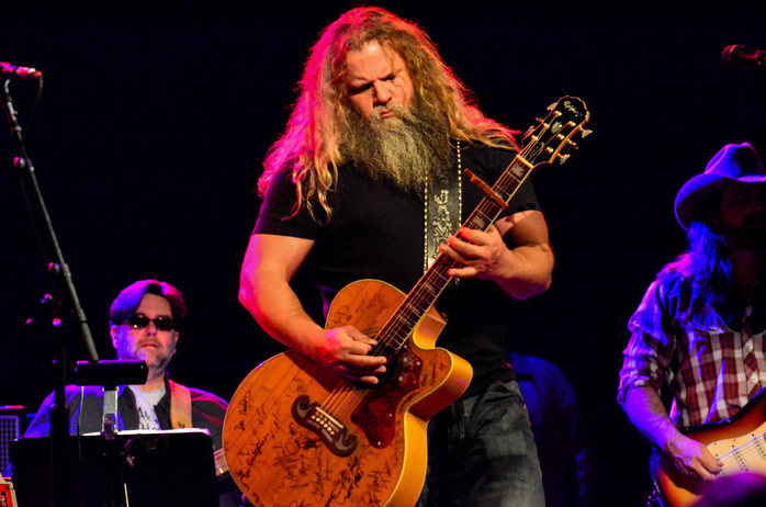 Jamey Johnson with Kelsey Waldon and Chris Hennessee at The Paramount