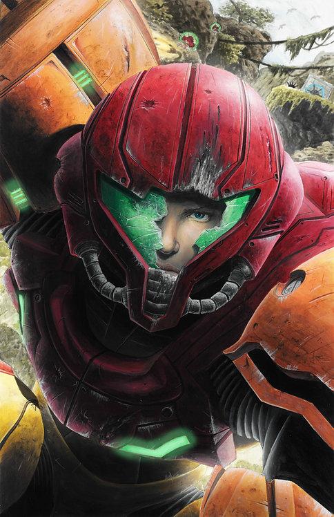 Super Metroid 'Samus' Print