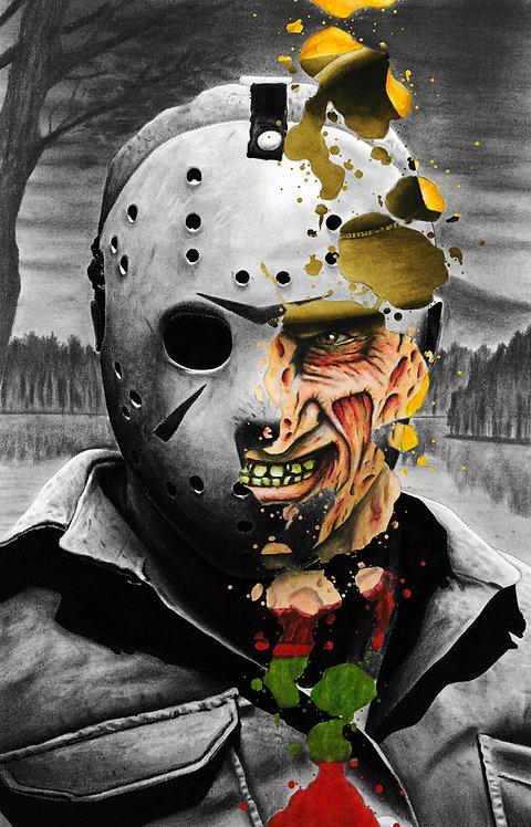 Freddy vs. Jason Print