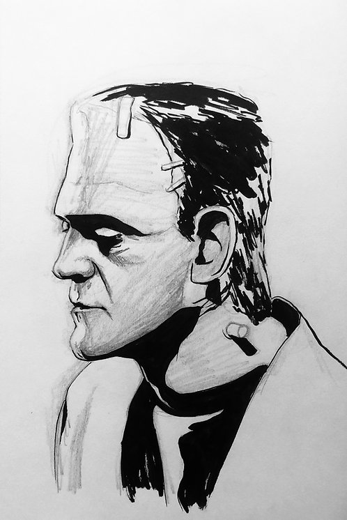 Frankenstein's Monster Portrait
