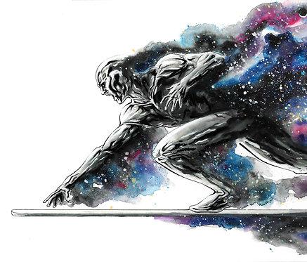 Silver Surfer 'Galaxy' Print