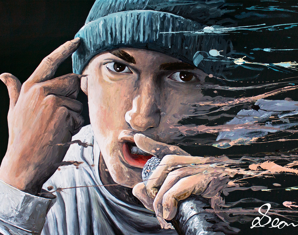 'Eminem' Desktop Wallpaper