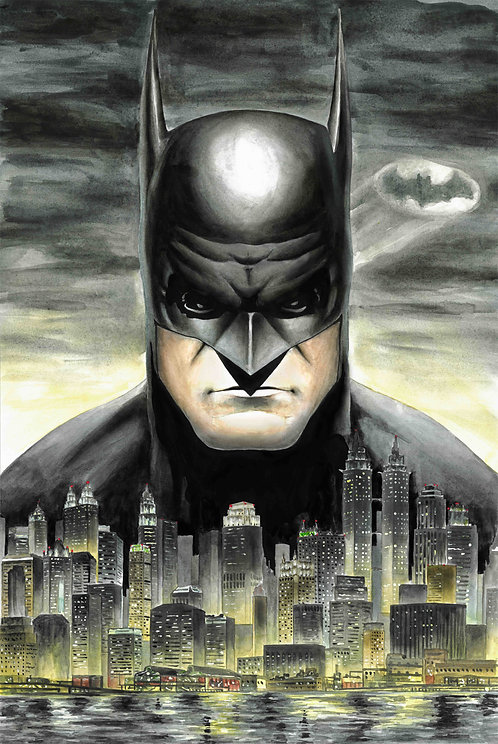 Batman, Gotham City Print