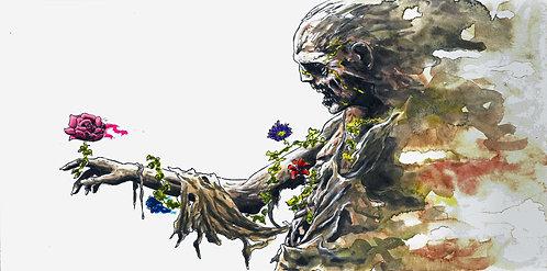 Floral Zombie Print