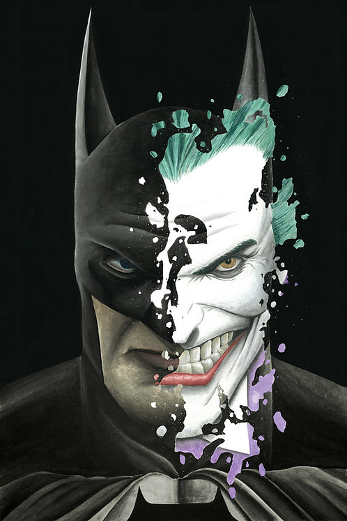 Batman/Joker Print