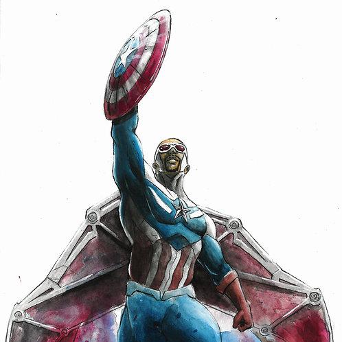The Falcon - Captain America, Print