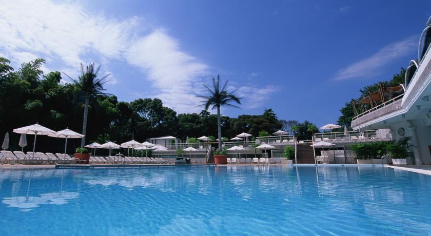 hotel new otani pool