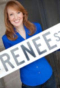 Renee Ertl - Renee Street sign