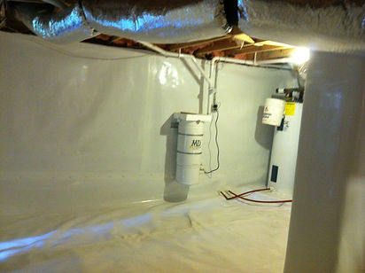 Mold Remediation Crawlspace Encapsulation: Cashiers NC, Highlands NC, Lake Toxaway NC, Sapphire NC (Mold Removal)