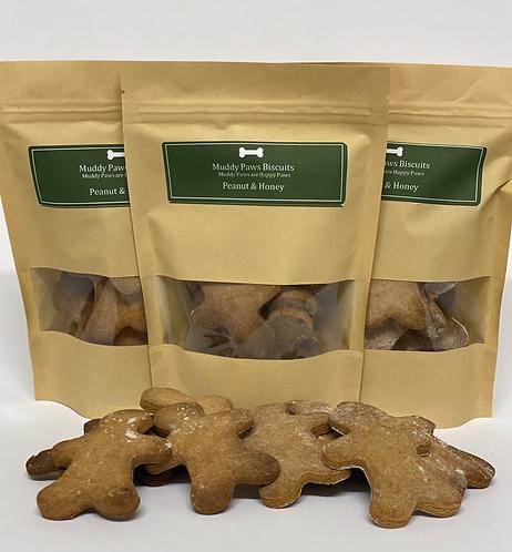 Peanut & Honey Dog Treats
