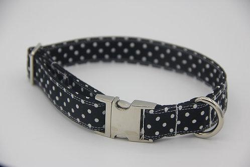 Black Polkadot Collar