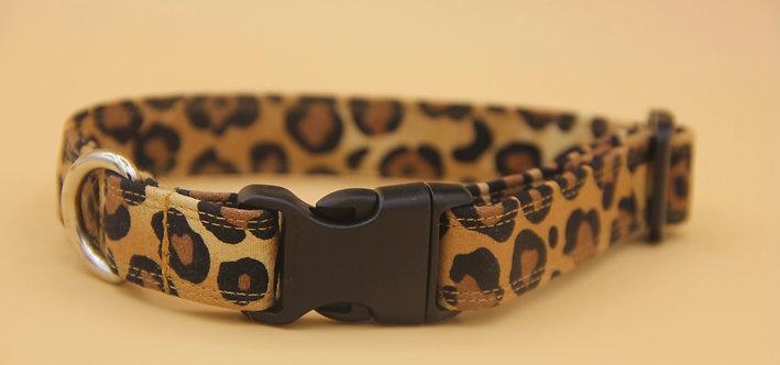 Leopard Dog Collar