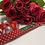 Thumbnail: Beautiful Rose and Hubble Red Polkadot Dog Collar