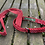 Thumbnail: Beautiful Rose and Hubble Red Polkadot Collar and lead set