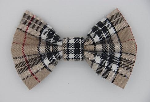 Tartan Dog Bow Tie