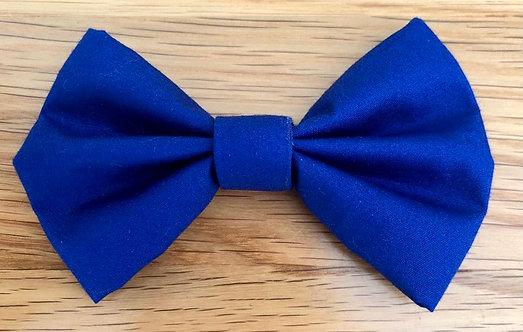 Blue Dog Bow Tie