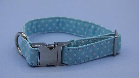 Baby Blue Polkadot Collar