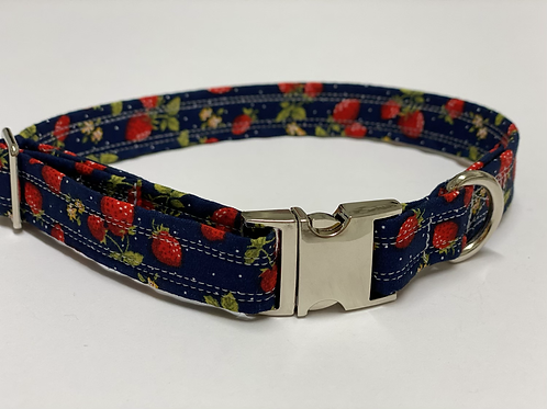 Adorable Strawberry Dog Collar