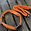 Thumbnail: Bold Orange Polkadot Dog Collar and lead set