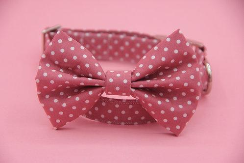 Pink Polkadot Bow Tie