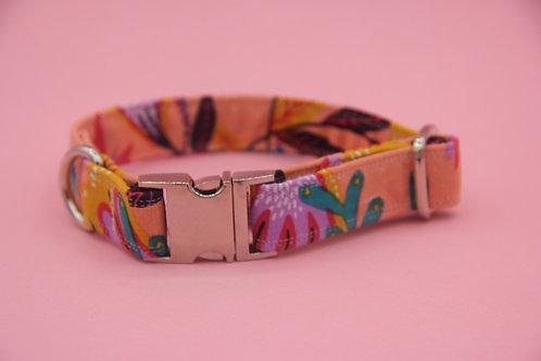 Bold Floral Dog Collar