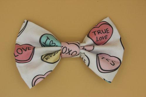 Love Hearts Bow Tie