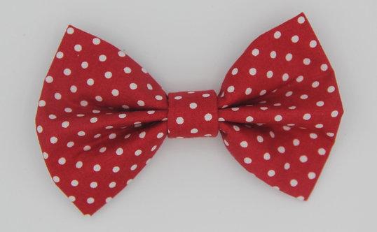 Red Polkadot Bow Tie