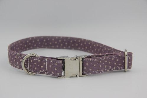 Purple Star Dog Collar
