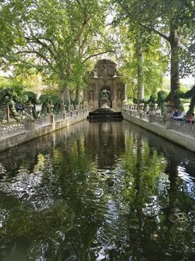 Paris Jardin de Luxembourg - The Medici