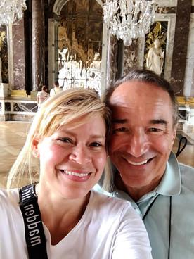 Janet and Gennaro at Versaille Paris