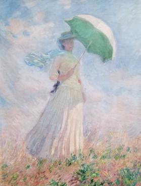 Monet Lady with Umbrella