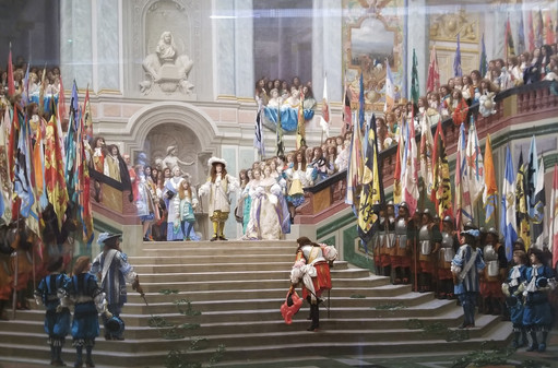 Reception of the Grand Count by Louis XI