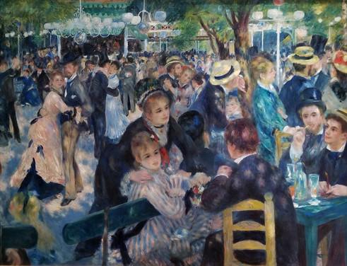 Renoir- Dance at Le moulin de la Galette
