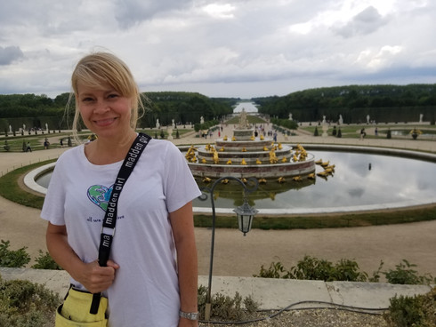 Janet at Versaille