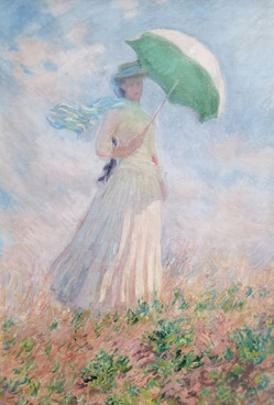 Monet- Woman with a Parasol