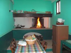 Kitchen in the Cellar