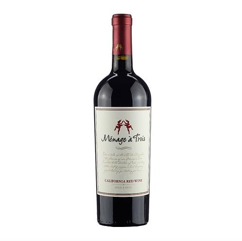 Ménage à Trois California Red Wine - 750ml