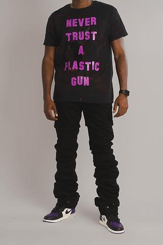 Black EDM Denim Jeans