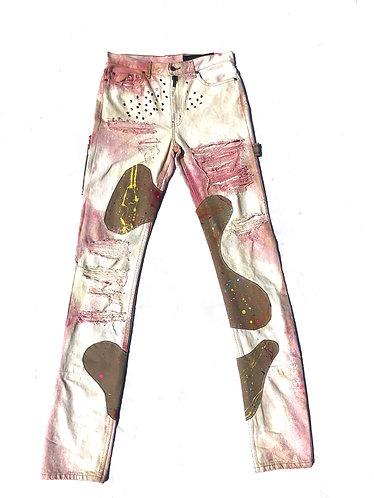 White Carpenter Denim Jeans