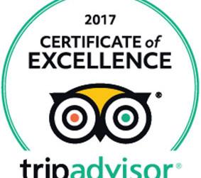 Crossing Vineyards Earns 2017 Trip Advisor Certificate of Excellence