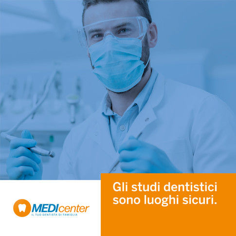 Gli studi dentistici sono luoghi sicuri