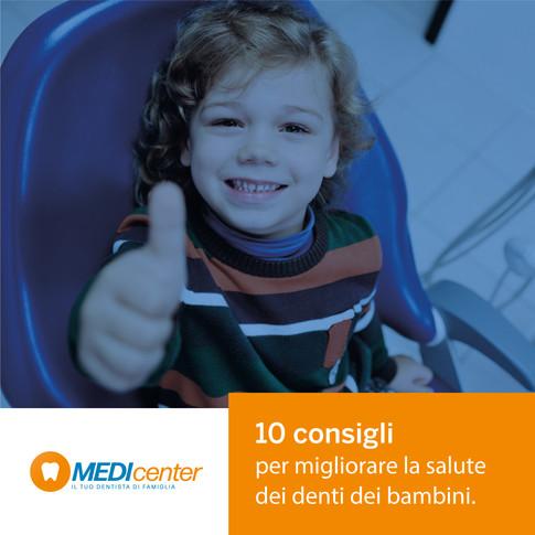 Bambini e igiene orale: 10 consigli per migliorare la salute dei loro denti