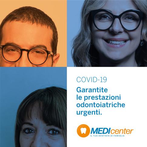 COVID-19: Garantite le prestazioni odontoiatriche urgenti