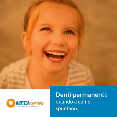 Denti permanenti dei bambini: quanto aspettare? E se non spuntano?
