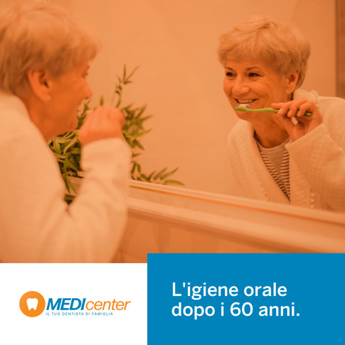 L'igiene orale dopo i 60 anni
