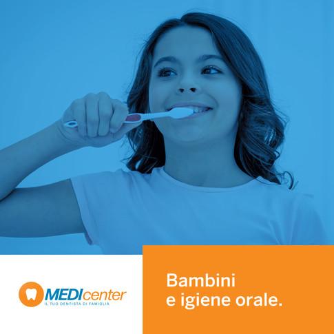 L'igiene orale dei bambini