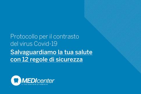 Medicenter: salvaguardiamo la tua salute con 12 misure di sicurezza